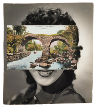 John Stezaker, Mask (Film Portrait Collage) CLXXIII, 2014