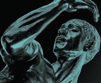 Auguste Rodin, Pierre de Wissant, monumental nude, c.1886–87
