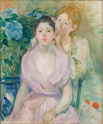Berthe Morisot (France, 1841-1895) L'hortensia (The hydrangea)