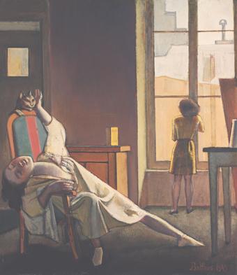 Balthus, La Semaine des quatre jeudis (1949)