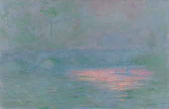 Claude Monet, Waterloo Bridge (1902)