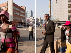 Guy Tillim, Harare - Diptych (2009)