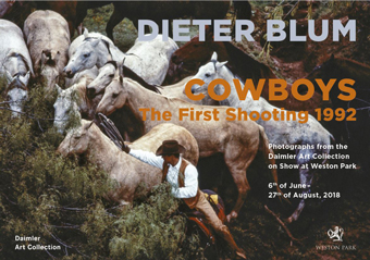 Dieter BlumCowboys. The first shooting 1992