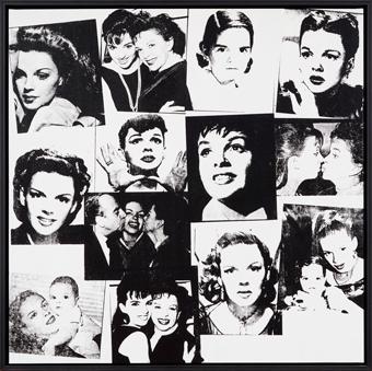 Andy Warhol (1928 - 1987) Judy Garland and Liza Minelli, 1978