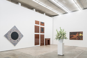 """Exhibition view of """"Sanguine: Luc Tuymans on Baroque""""  A project by Luc Tuymans"""
