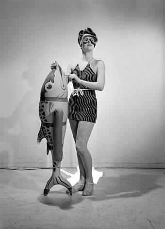 Lee Miller Bathing feature, Vogue Studio, London, 1941