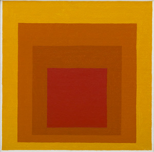 Study for Homage to the Square: Closing, 1964