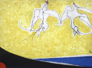 Osvaldo Licini, Angels, First Love, 1955