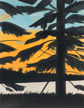 Alex Katz, Sunset 1, 2008