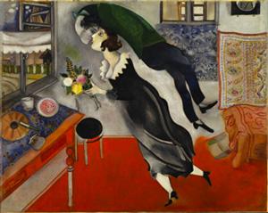 Marc Chagall, L'anniversaire