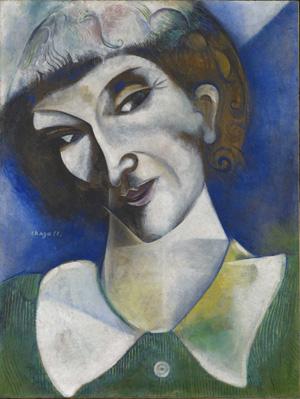 Marc Chagall, Portrait de l'artiste