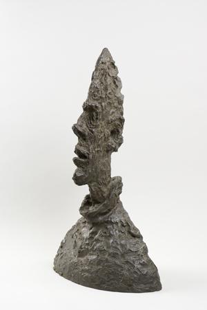 Alberto Giacometti Tall Thin Head (Grande tête mince), 1954