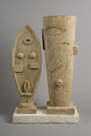 Alberto Giacometti The Couple (Le Couple), 1927