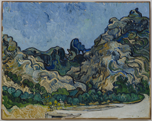 Vincent Van Gogh, Mountains at Saint-Rémy
