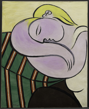 Pablo Picasso, Woman with Yellow Hair