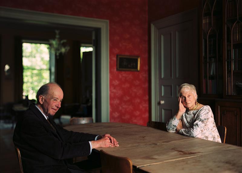 Eleonor and Giles Robertson, Edinburgh, 1987 © Thomas Struth