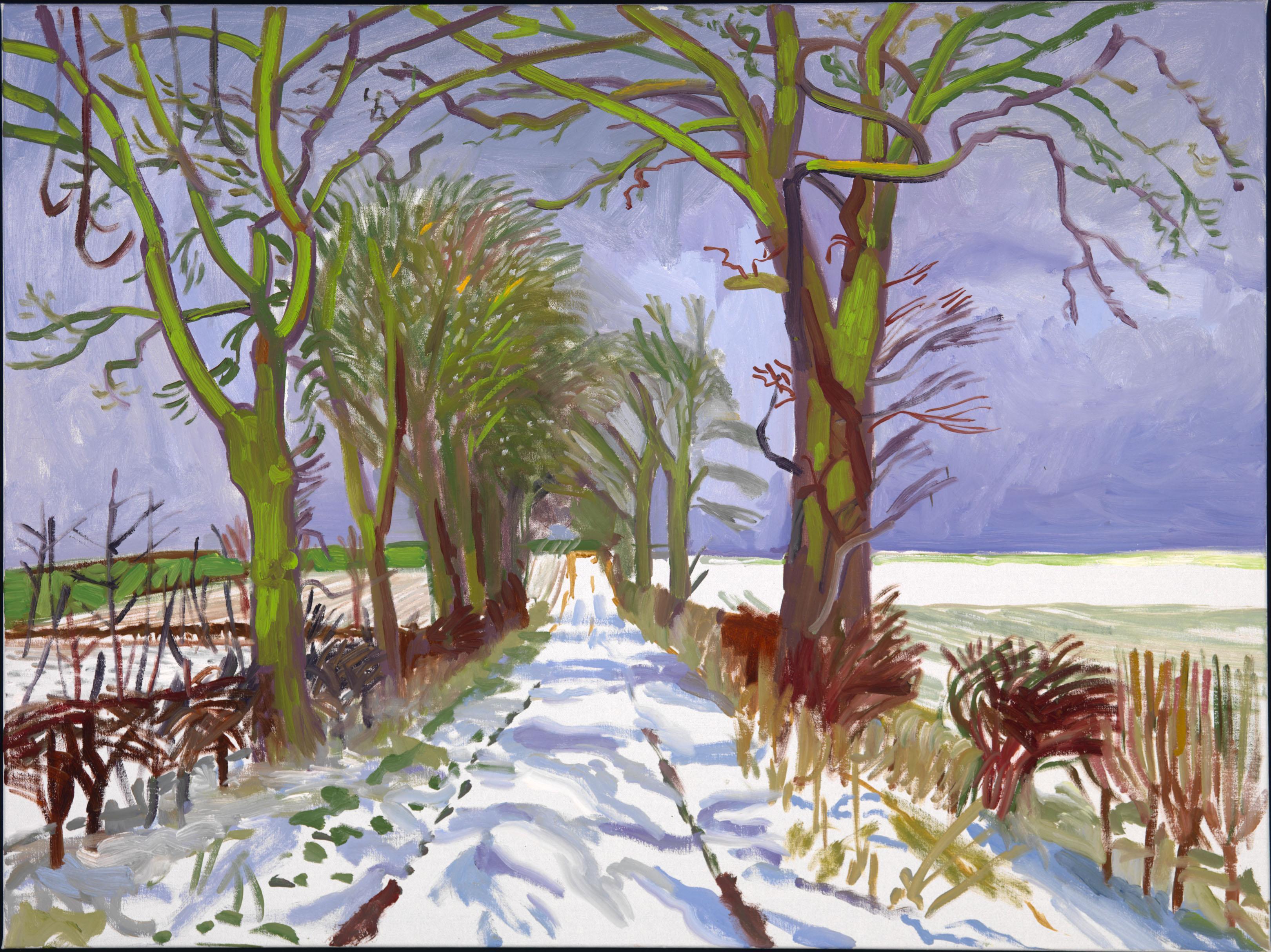 Guggenheim museum bilbao david hockney a bigger picture for David hockney painting