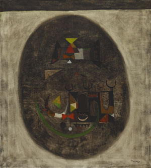 Dia Al-Azzawi (1939) The Old City, 1966