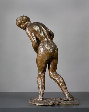 Edgar Degas (1834-1917)  Woman Taken Underwares