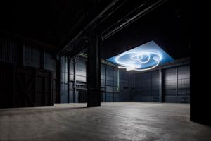 Lucio Fontana, Struttura al neon per la IX Triennale di Milano, 1951/2017