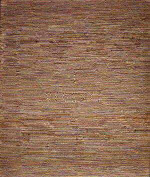 Alighiero Boetti, I vedenti (1973)