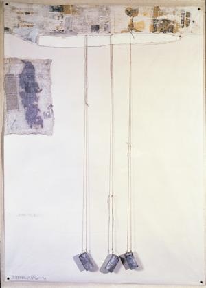 Robert Rauschenberg, Untitled (Scripture III), 1974