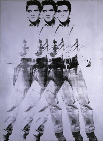 Andy Warhol, Triple Elvis (1963)