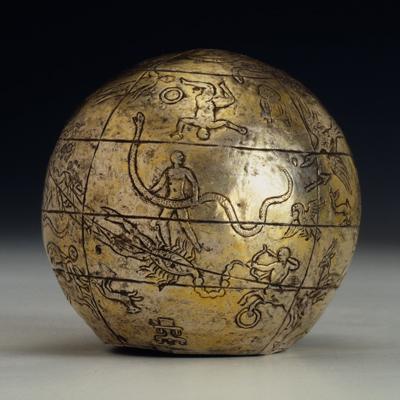 Celestial sphere, c. 200 BCE.   Paris, Private collection Kugel. © Paris, Private collection Kugel