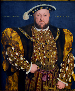 Hans Holbein the Younger, Portrait of Henry VIII, 1540