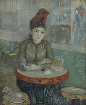 Vincent Van Gogh, In the Café: Agostina Segatori in Le Tambourin, January–March 1887