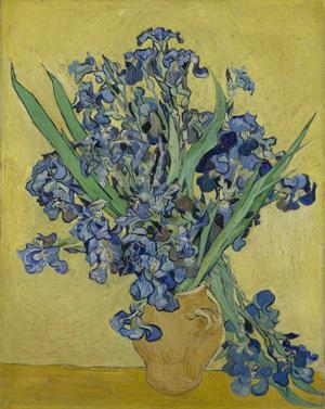 Vincent van Gogh, Irises, May 1890