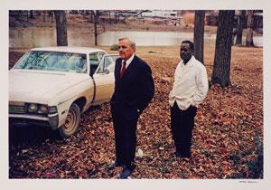 William Eggleston  Sumner, Mississippi, Cassidy Bayou in background, 1971
