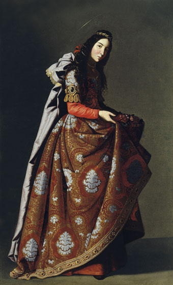Francisco de Zurbaran, Saint Casilda, ca. 1635