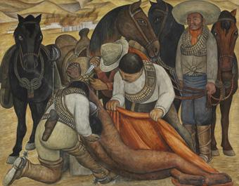 José Diego María Rivera, Liberation of the Peon