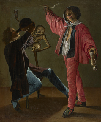 Judith Leyster,The Last Drop (The Gay Cavalier) c. 1639.