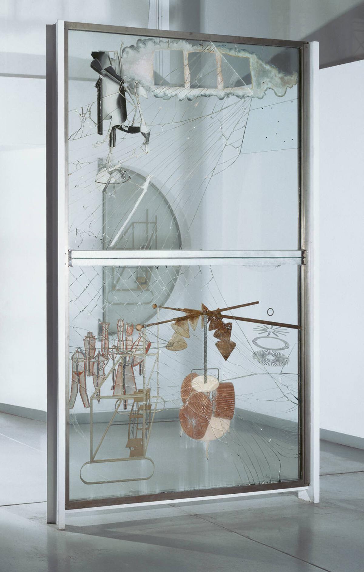 Duchamp Broken Glass