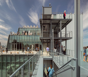 Renzo Piano Building Workshop, Whitney Museum of American Art, New York, 2015Photo © Nic Lehoux© RPBW