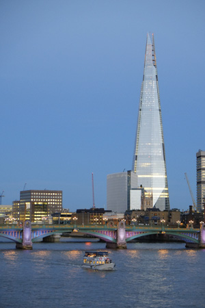 Renzo Piano Building Workshop, The Shard, London Bridge Tower and London Bridge Place, London, 2012Photo © William Matthews© RPBW