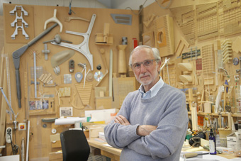 Italian architect Renzo Piano poses at his workshop in Paris, 2015 Photo © Francois Mori/AP/REX/Shutterstock