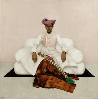 Bernard Boutet de Monvel, The Maharadjah of Indore.  Photocredit : Sotheby's / Art digital studio.