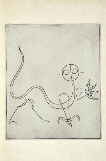 André Breton - Alberto Giacometti, L'Air de l'Eau, 1934
