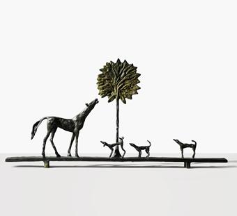 Diego Giacometti (1902-1985), La Promenade des amis, ca.1975.