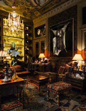 Salon au rez-de-chausséeParis, Rue Bonaparte