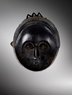 Baulé, Mask, Ivory Coast