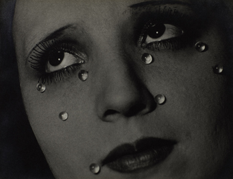 Man Ray, Glass Tears (Les Larmes), 1932. Collection Elton John.