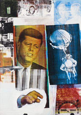 Robert Rauschenberg, Retroactive II 1963