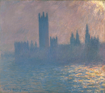Claude Monet, Houses of Parliament, Sunlight Effect (1903).