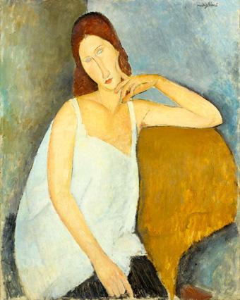 Amedeo Modigliani, Jeanne Hébuterne 1919.