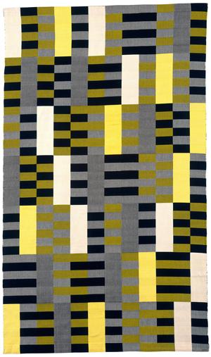 Anni Albers, Black White Yellow (1926/1965)