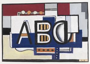 Fernand Léger ABC, 1927